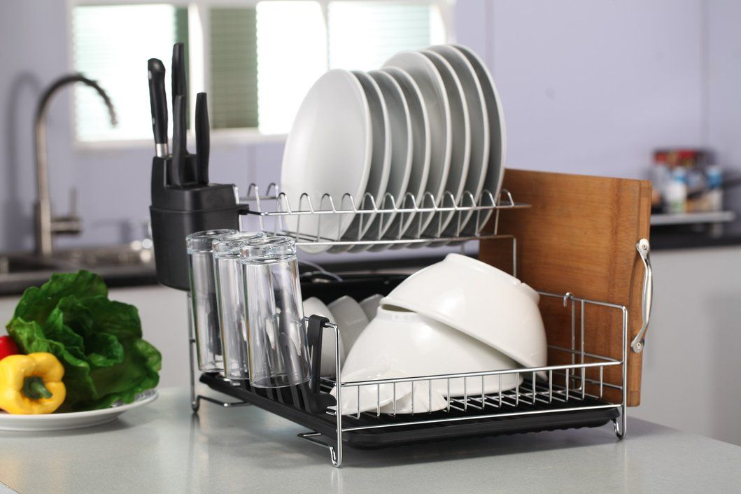 Professional Dish Rack - 304 Stainless Steel- Fully
