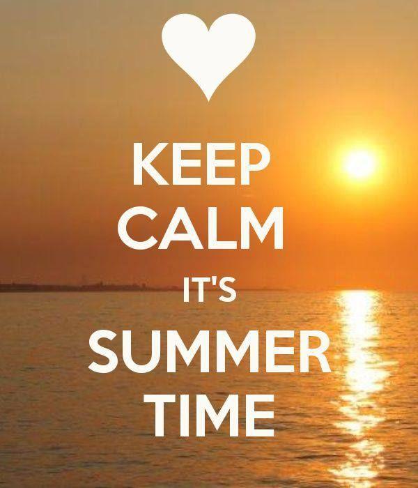 Beau Keep Calm Itu0027s Summer Time #quote