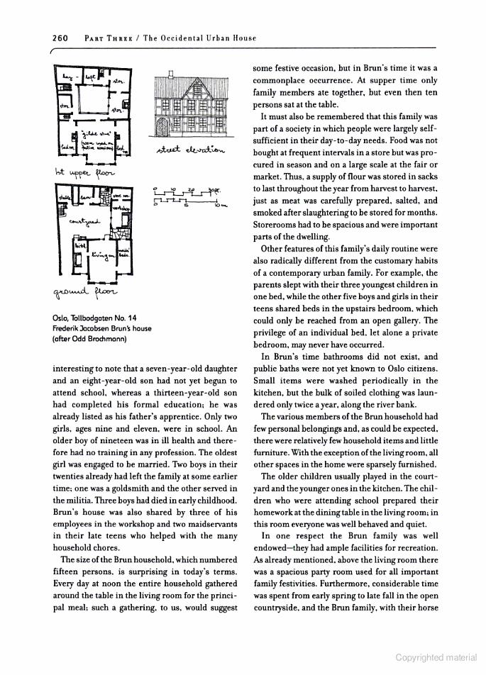 6,000 Years of Housing - Norbert Schoenauer - Brun House   Home A ...