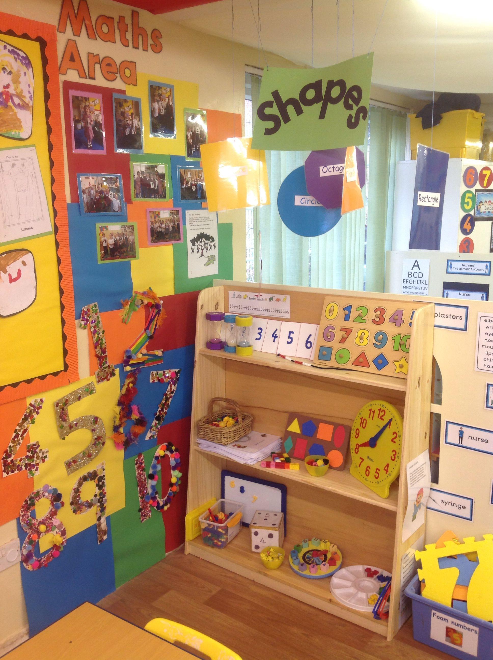 Kindergarten Class: Grade RR Maths Ideas