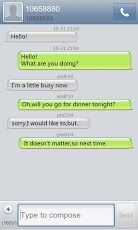 GO SMS Pro Iphone Theme v1 0 APK Download | iphone | Iphone