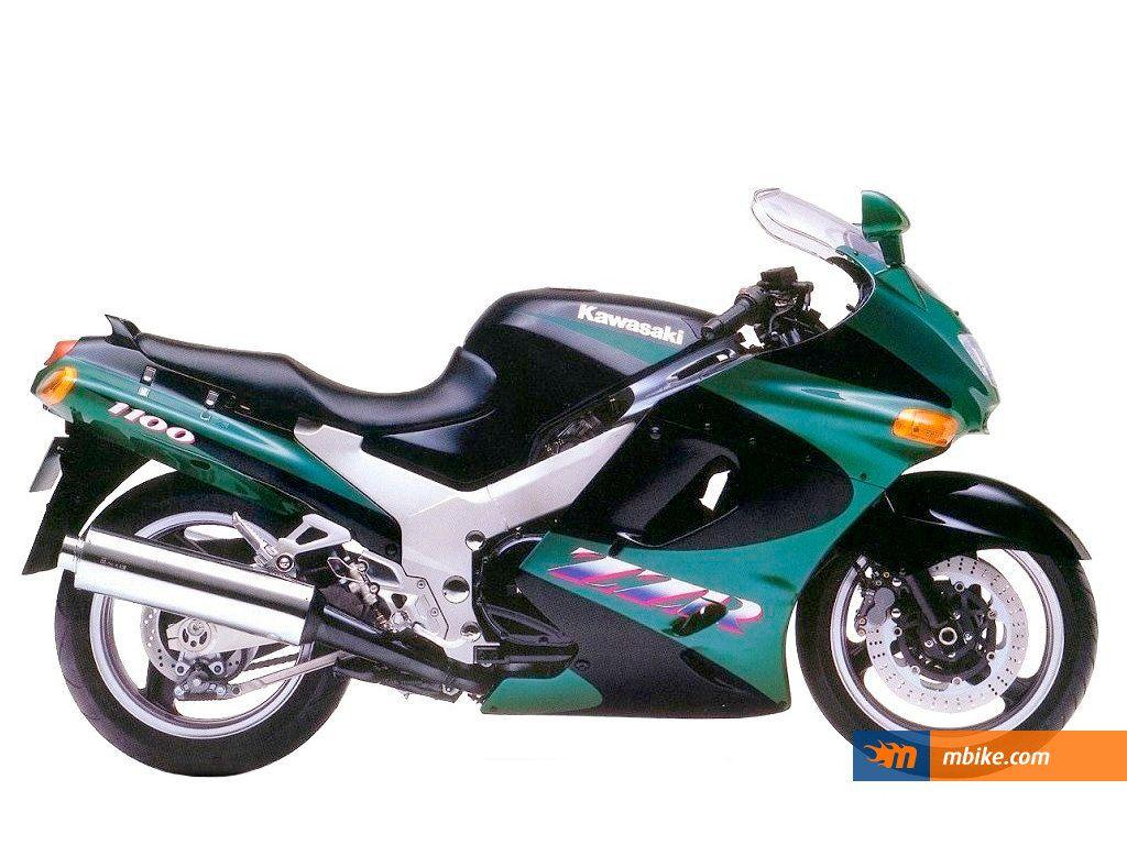 1993 Kawasaki ZZR 1100 Wallpaper Kawasaki