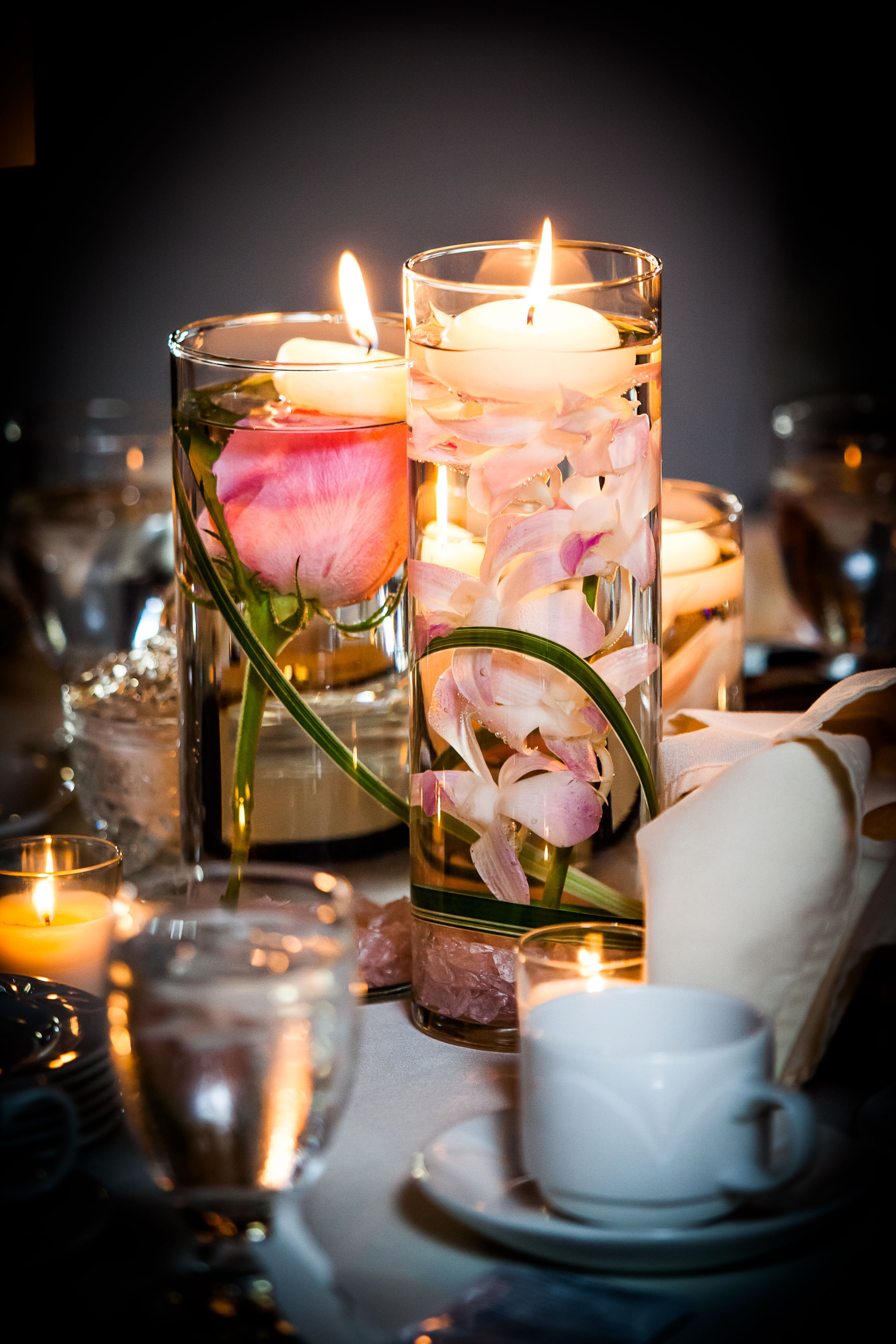 Floating Candles Gorgeous Photographer Anne Edgar Photography