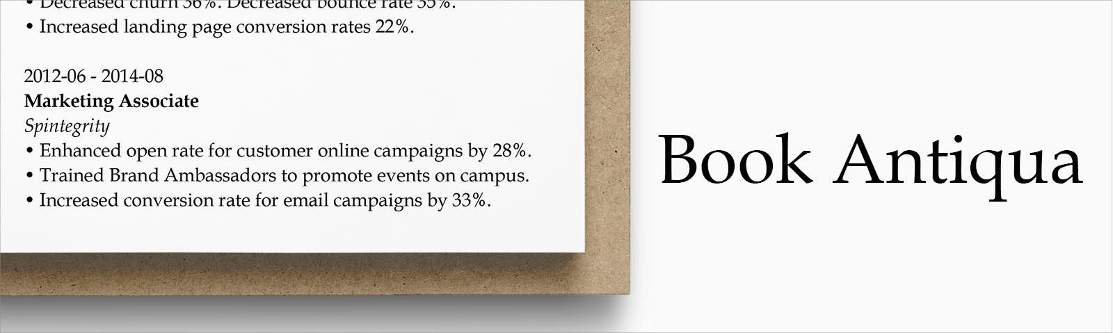 If You Imagine Modern Resume Templates Ought To Prefer Typography