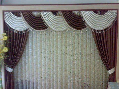 Como hacer una cenefa globo entubado ondas corridas 4 7 por yuruanni bravo youtube cortinas - Cortinas elegantes para sala ...