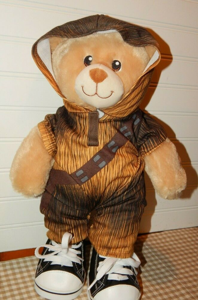 Build A Bear Workshop Star Wars Chewy Chewbacca Outfit ...