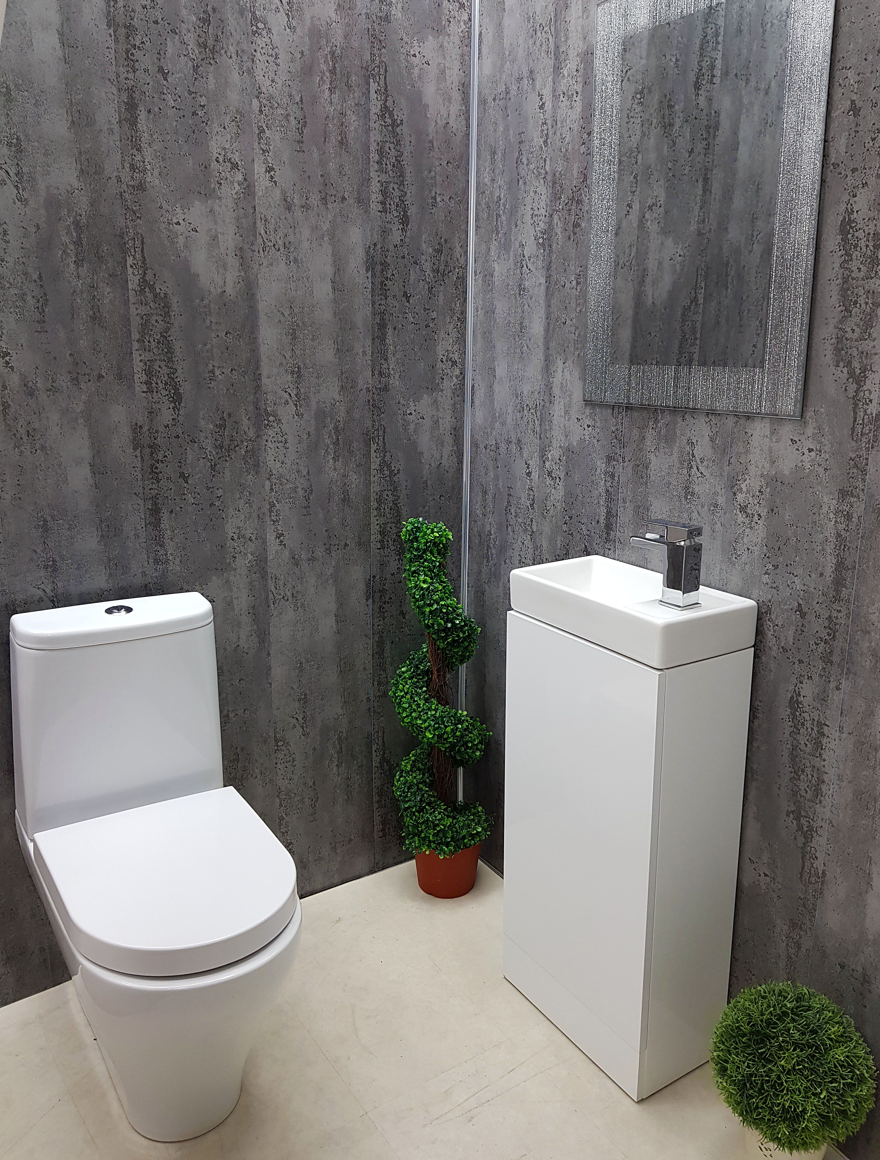 You Can Create Luxury In Your Small Bathroom As Well Look At This Bathroom Idea It Stands Out F Bathroom Cladding Bathroom Wall Cladding Bathroom Wall Panels