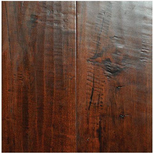 Distressed Maple Hardwood Flooring: Smoked Bourbon In 2019