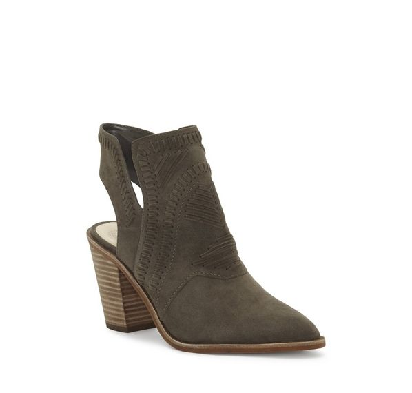 Vince Camuto Binks Western Bootie | S H O E S | Pinterest | Vince camuto,  Westerns and Detail