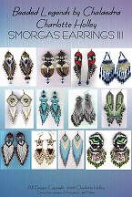 Smorgas Earring Sampler 3 (E-Book) by Charlotte Holley - Beaded Legends by Chalaedra