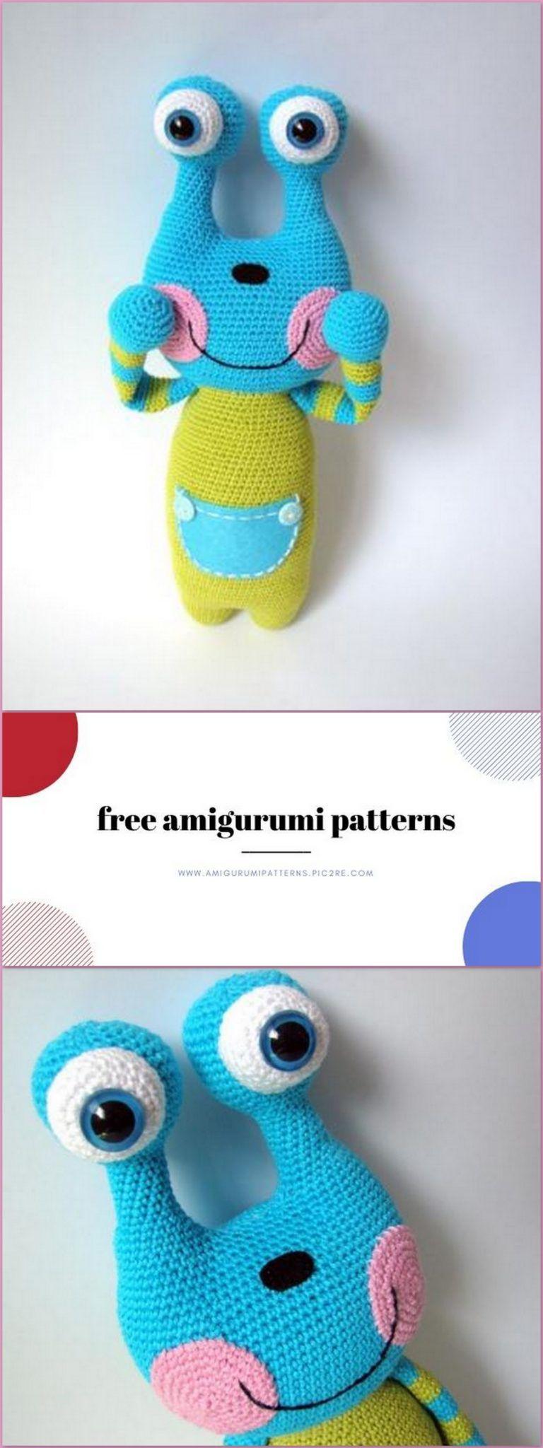 UFO Free Crochet Amigurumi Pattern ⋆ Crochet Kingdom | 2048x768