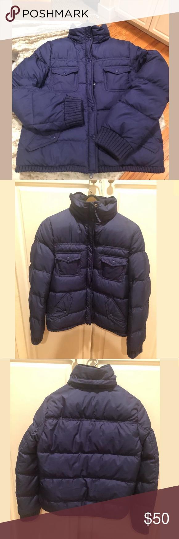 J Crew Sherpa Fleece Lined Puffer Jacket Medium Puffer Jackets Puffer Jackets [ 1740 x 580 Pixel ]