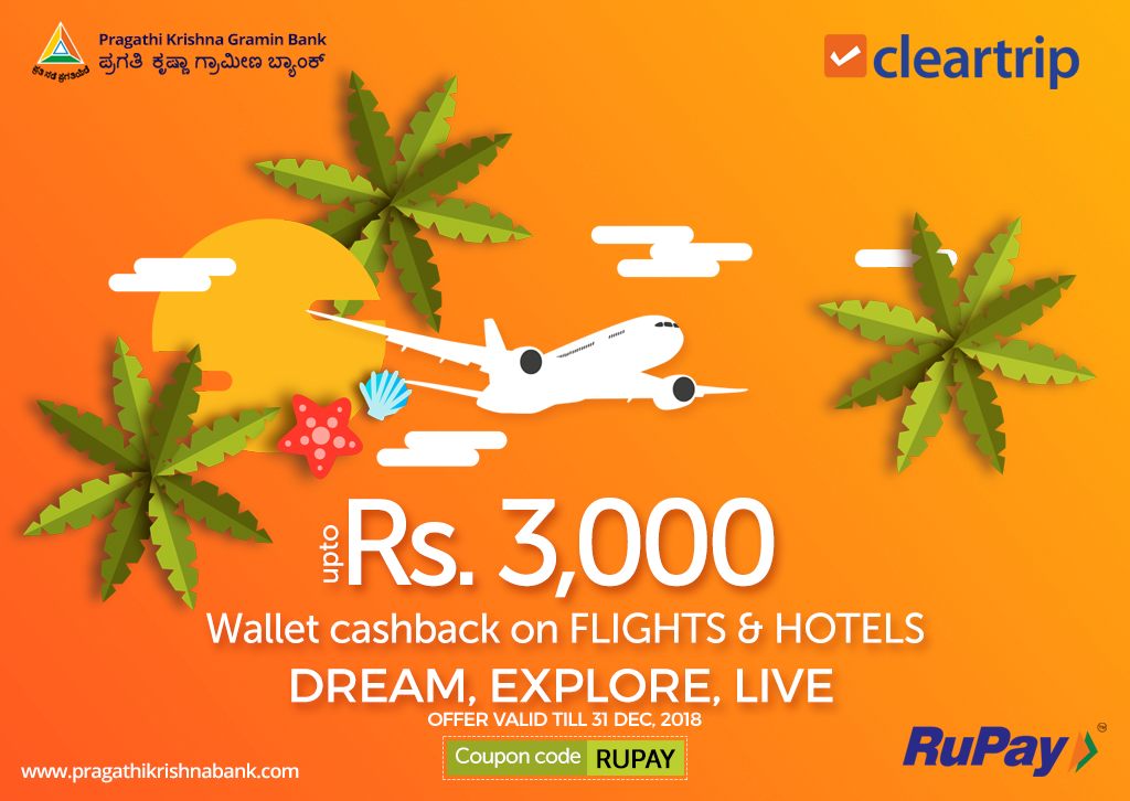 Dream, Explore, Live  Plan this vacation with Cleartrip and get up