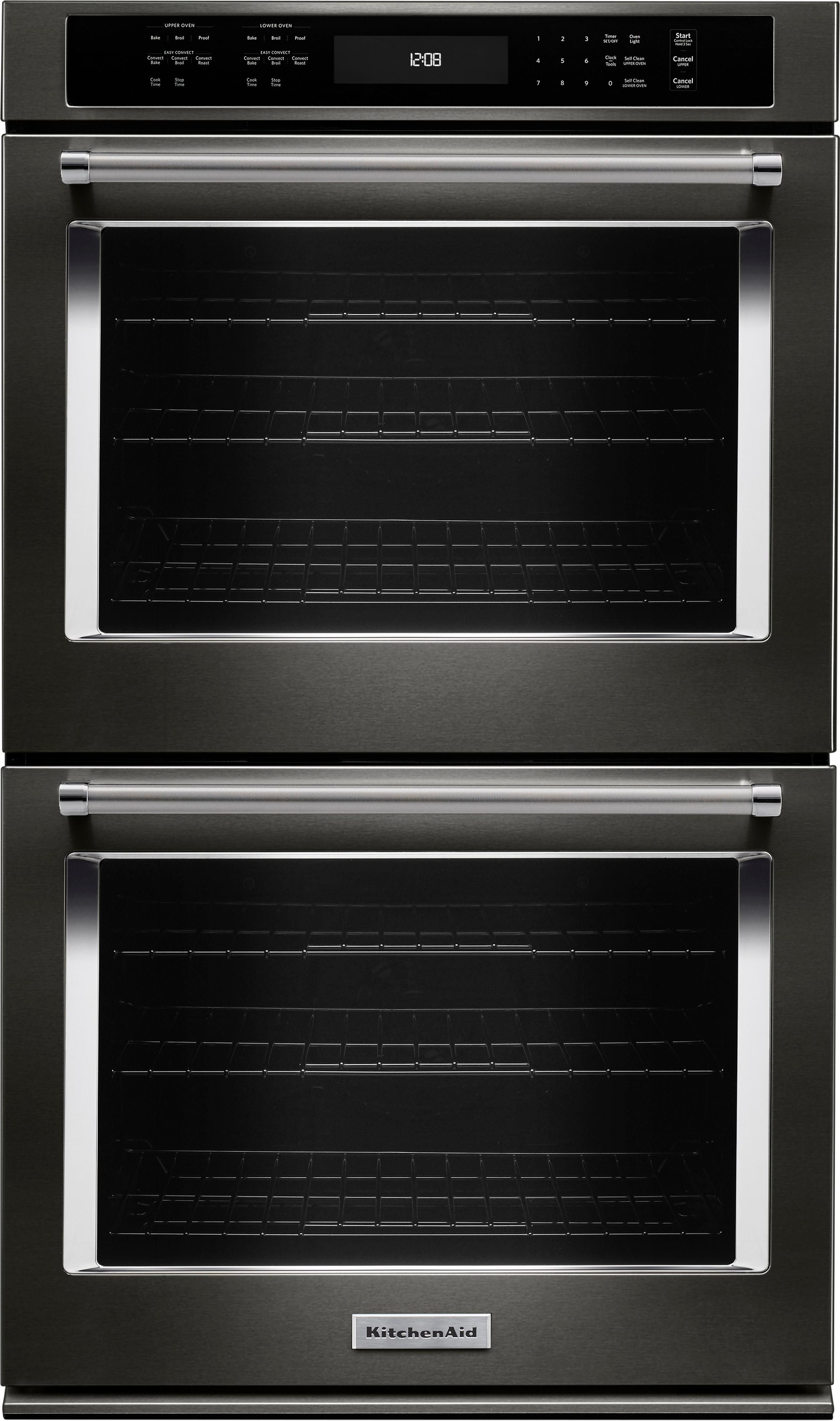 Kitchenaid 30 builtin double electric convection wall