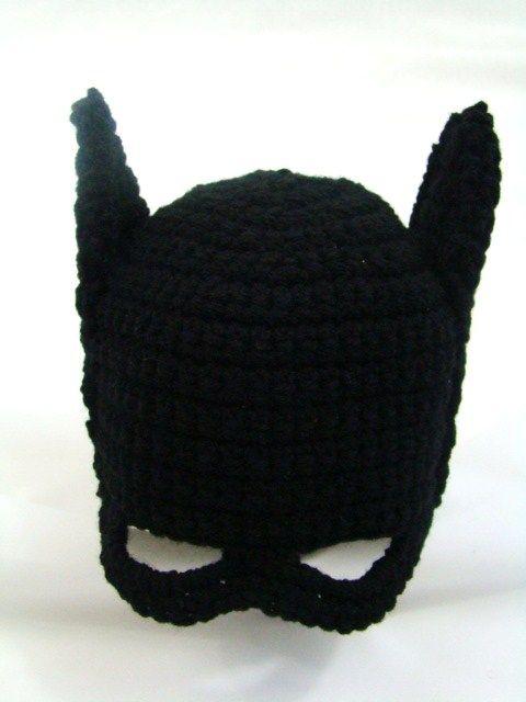 Crochet a Batman hat for your little superhero fans with our free ...