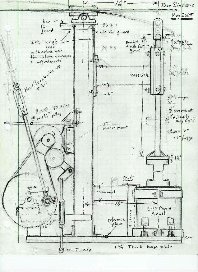 R U00e9sultat De Recherche D U0026 39 Images Pour  U0026quot Power Hammer Plans