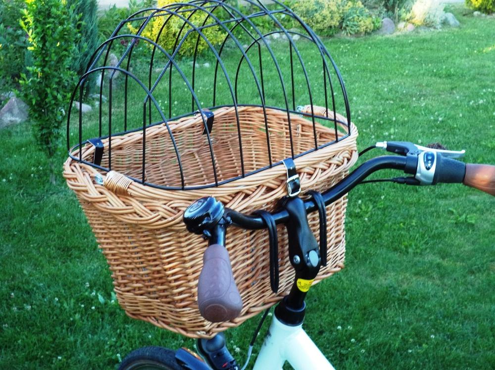 Kup Teraz Na Allegro Pl Za 89 Zl Kosz Koszyk Wiklinowy Na Rower Psa Kota Do 15 Kg 7260282243 Allegro Pl R Wicker Decorative Wicker Basket Wicker Baskets