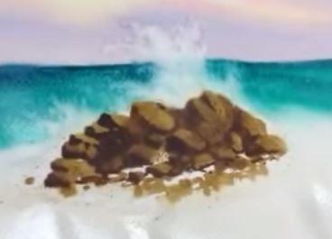 Dessin Et Peinture Video 1665 Comment Peindre La Mer Autour Du