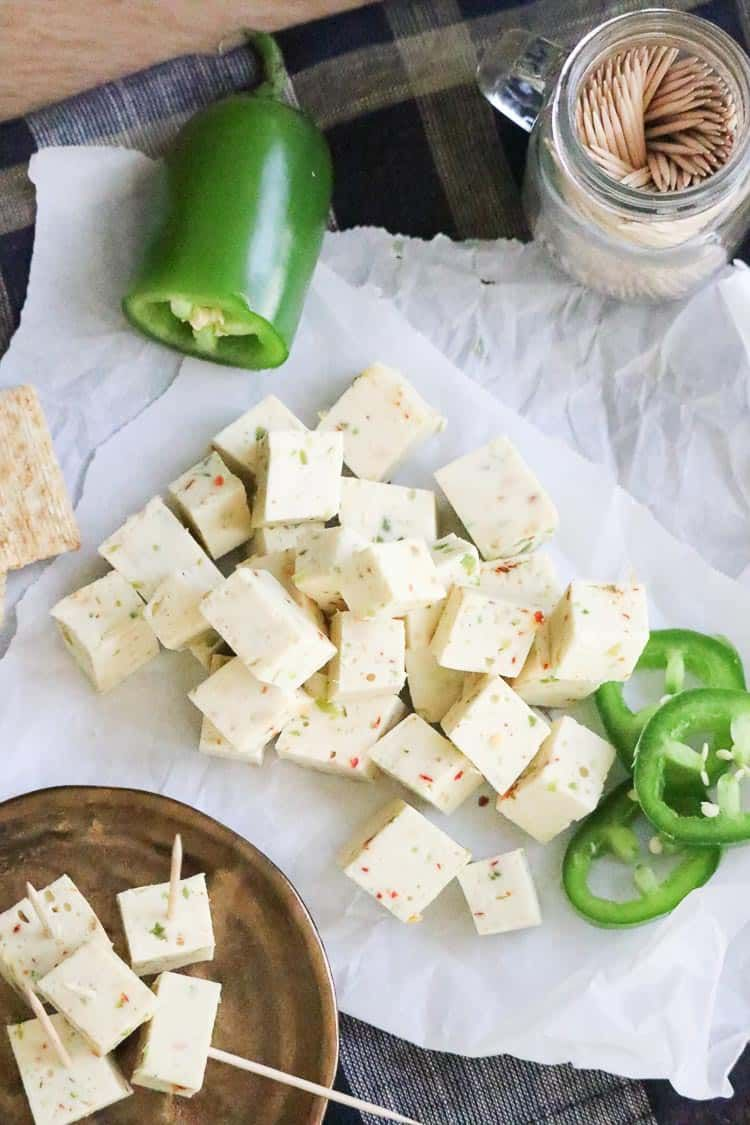 Easy And Amazing Vegan Pepper Jack Cheese Recipe Vegancheese Vegancheeserecipe Veganpepperj Vegan Cheese Recipes Vegan Blueberry Pepper Jack Cheese Recipes