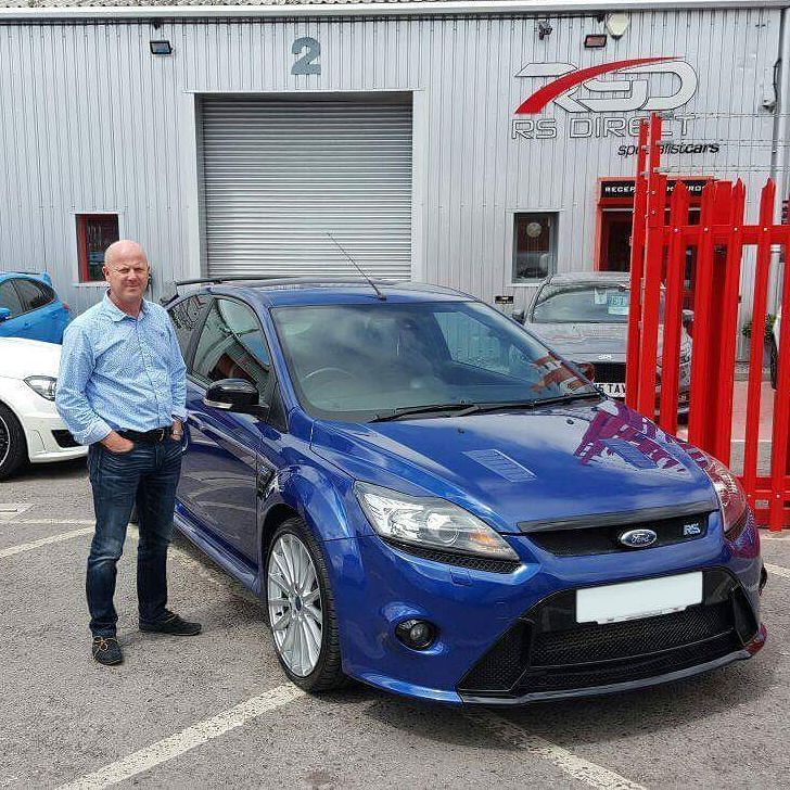 Matthew Here From Devon Collecting Our Full Spec Ford Focus Rs