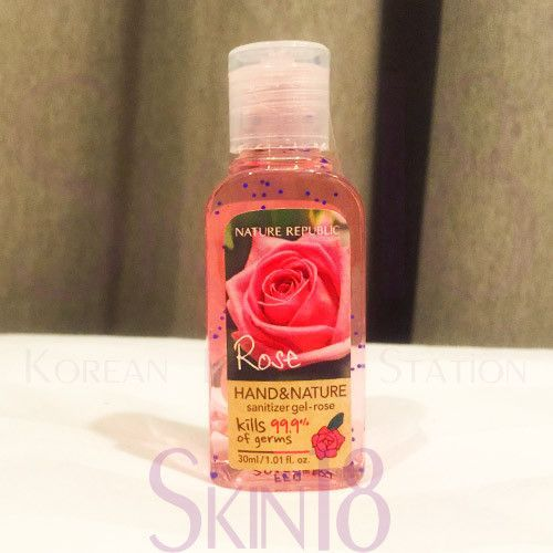 Nature Republic Hand And Nature Hand Sanitizer Rose Hand