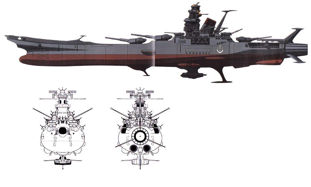 Space Battleship Yamato Edf Ships Official Edf Vessels