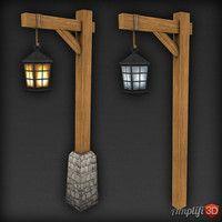Lamppost 3d Models Outdoor Lamp Posts Outdoor Lamp Outdoor Post Lights