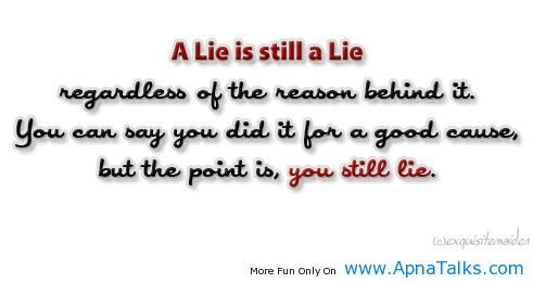 Poetry About Liars Lie Is Still A Lie Quotes About Liars Liar