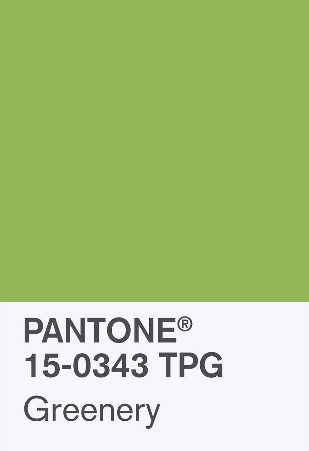 This Verdant Shade Is Pantone's Color of the Year for2017