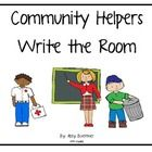 This set include 7 write the room community helper cards, and the write the room recording sheet.  Great for center time or writing centers.  Check...