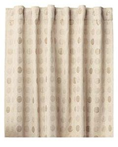 perfect neutral but printed curtains