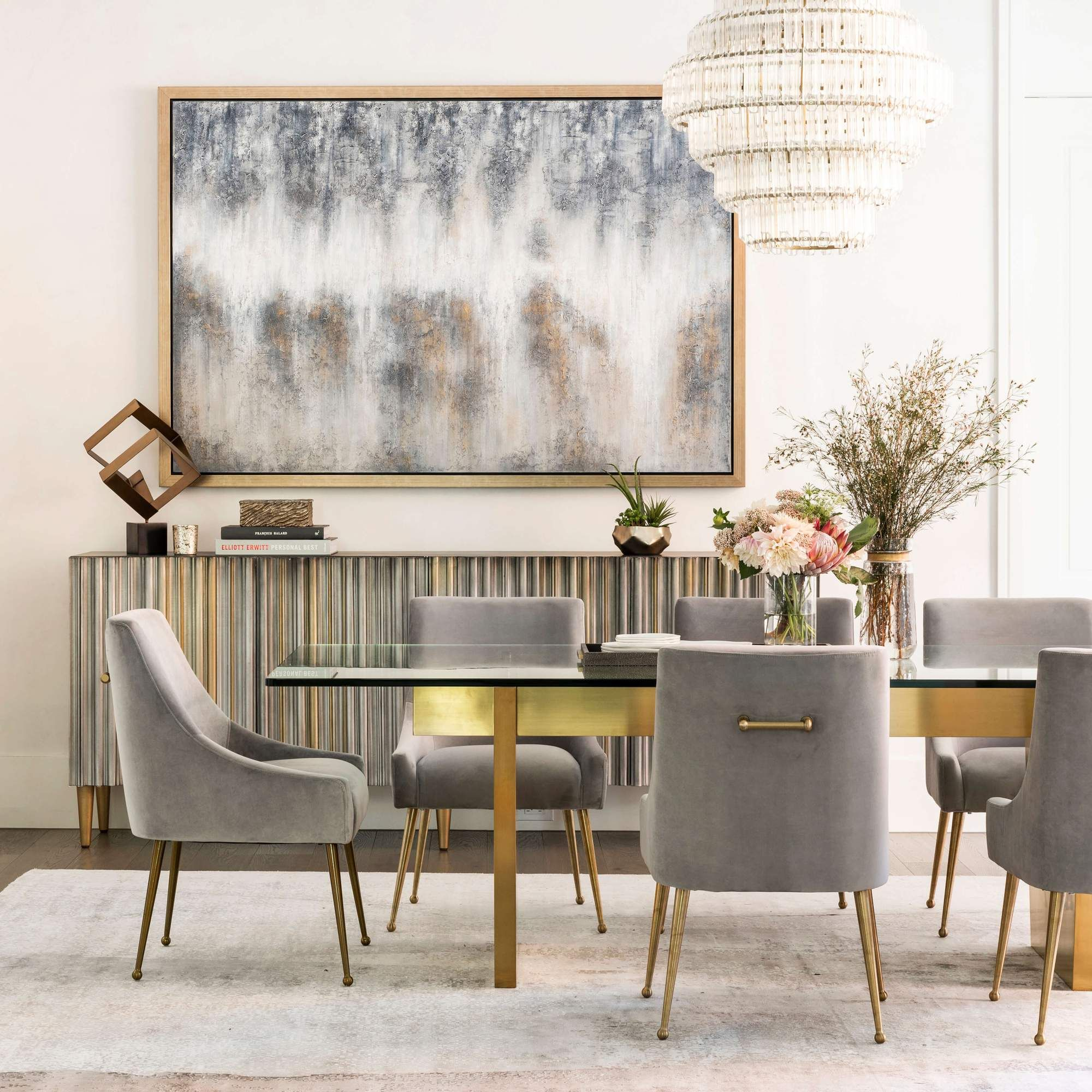 43++ Gold dining table and chairs Best Seller