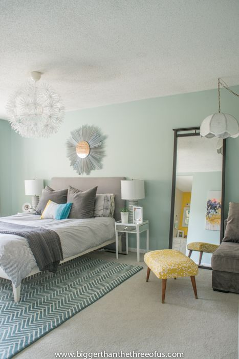 Calm Layered And Minimal Master Bedroom Paint Colors For Bedrooms
