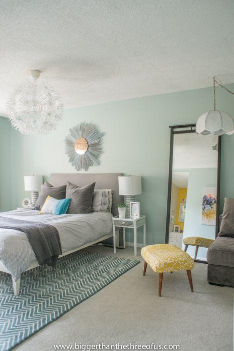 Calm Layered And Minimal Master Bedroom Bigger Than The Three