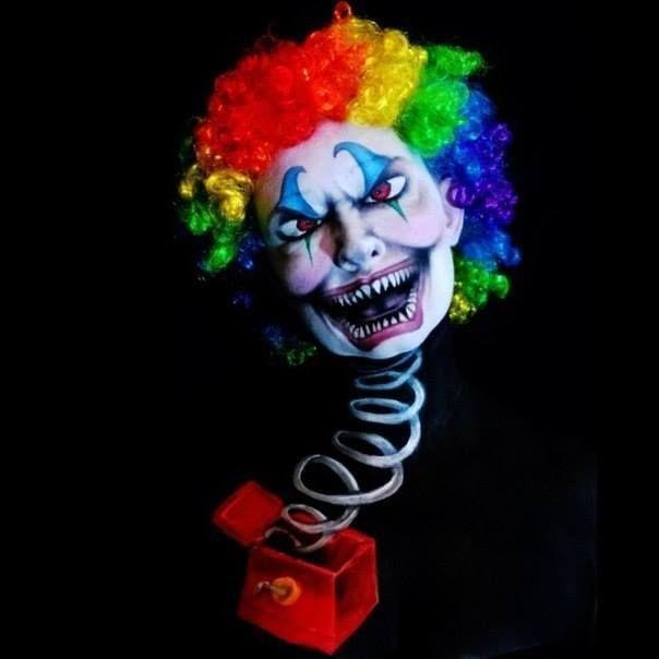 Horrifying Halloween Face Painting Ideas for men women and kids - halloween face paint ideas scary