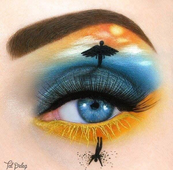 Bildergebnis für creative eye makeup illustrations