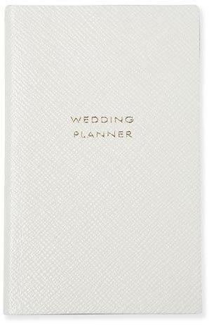 "Smythson ""Wedding Planner"" Panama Notebook, White ($80)"