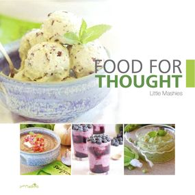 Little mashies food for thought recipe book is packed with little mashies baby food pouches and recipe books forumfinder Images