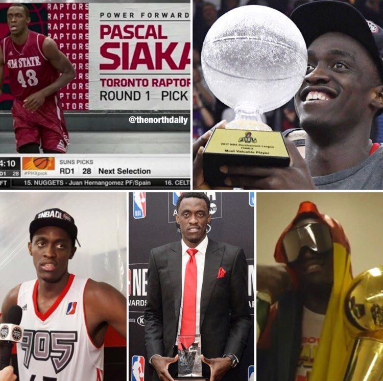Pascal Siakam's success over the years after being drafted in 2016 🙌🔥 - @pskills43 - Follow My @tikt...