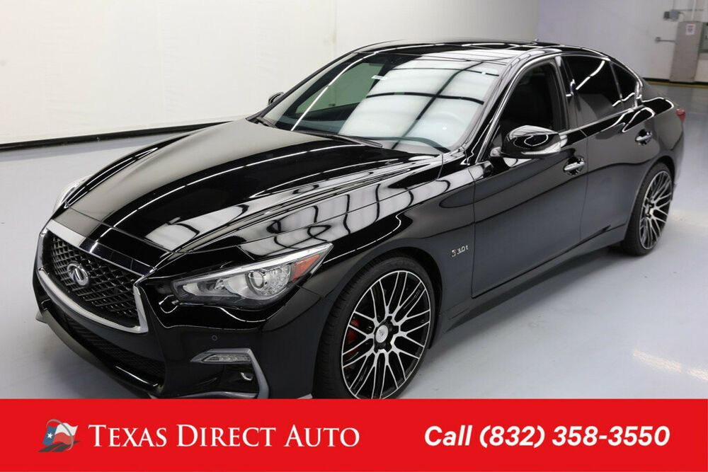 For Sale 2018 Infiniti Q50 RED SPORT 400 Texas Direct