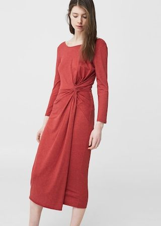 Vestito Drappeggiato Donna Pinterest Rounding And Woman