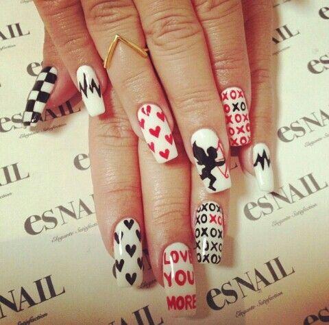 Cupido | Nails | Es nails, Gel Nails, Nails