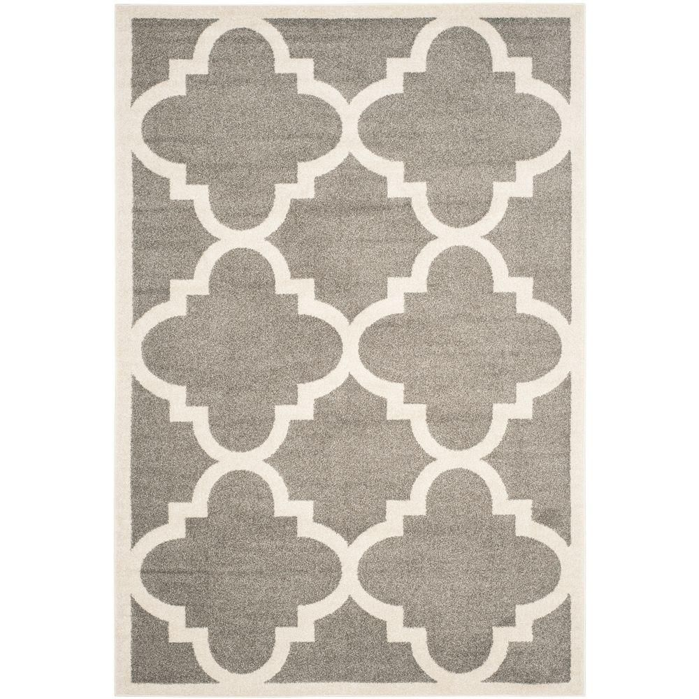 Safavieh Amherst Dark Grey Beige 4 Ft X 6 Area Rug