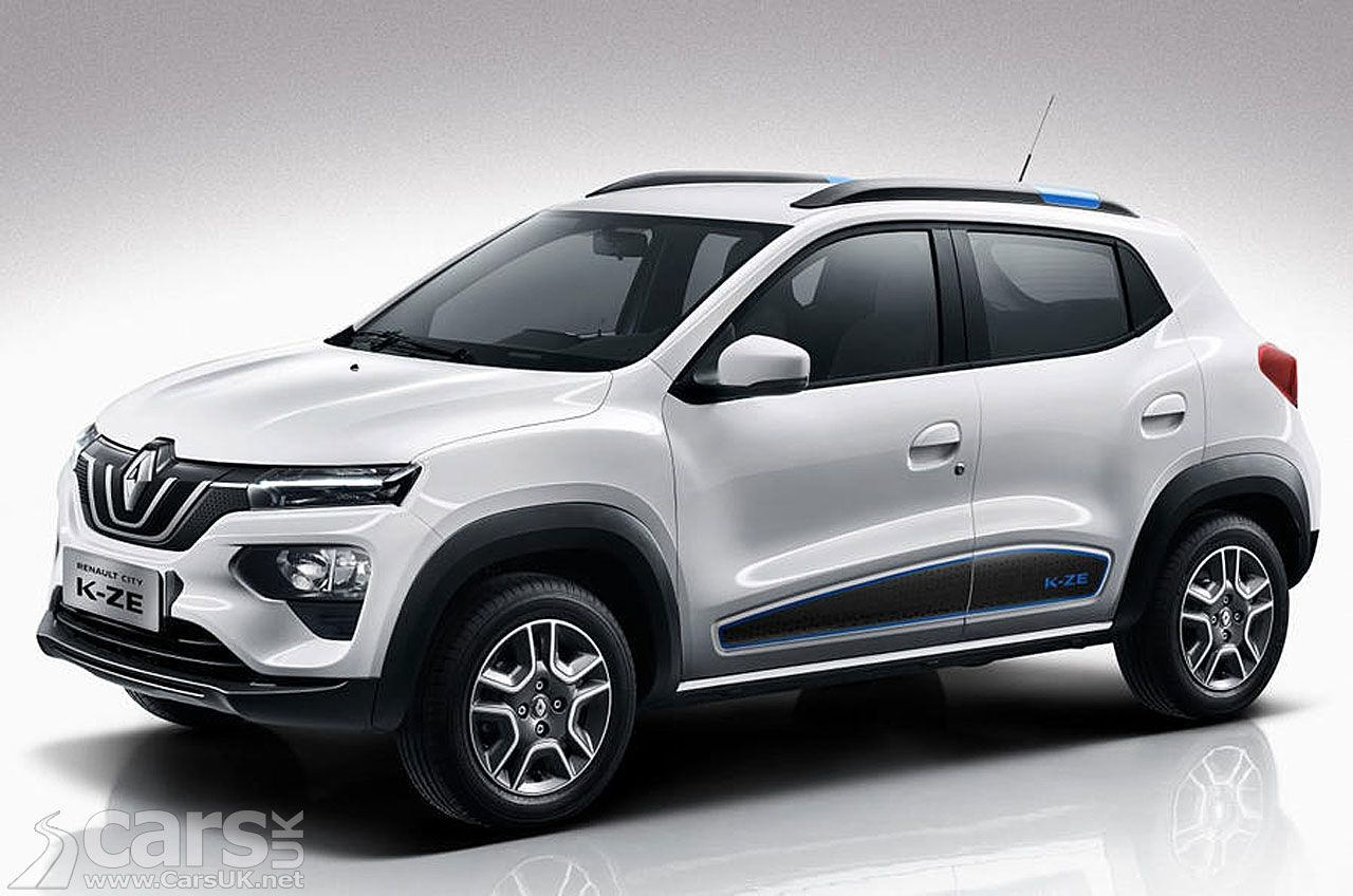 Renault City KZE electric baby SUV heading for the UK as