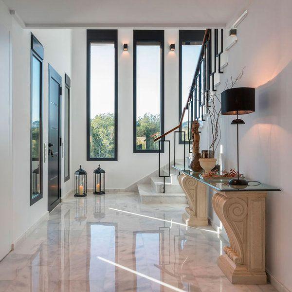 Una villa de lujo en moraira pinterest apartments and - Recibidores de lujo ...