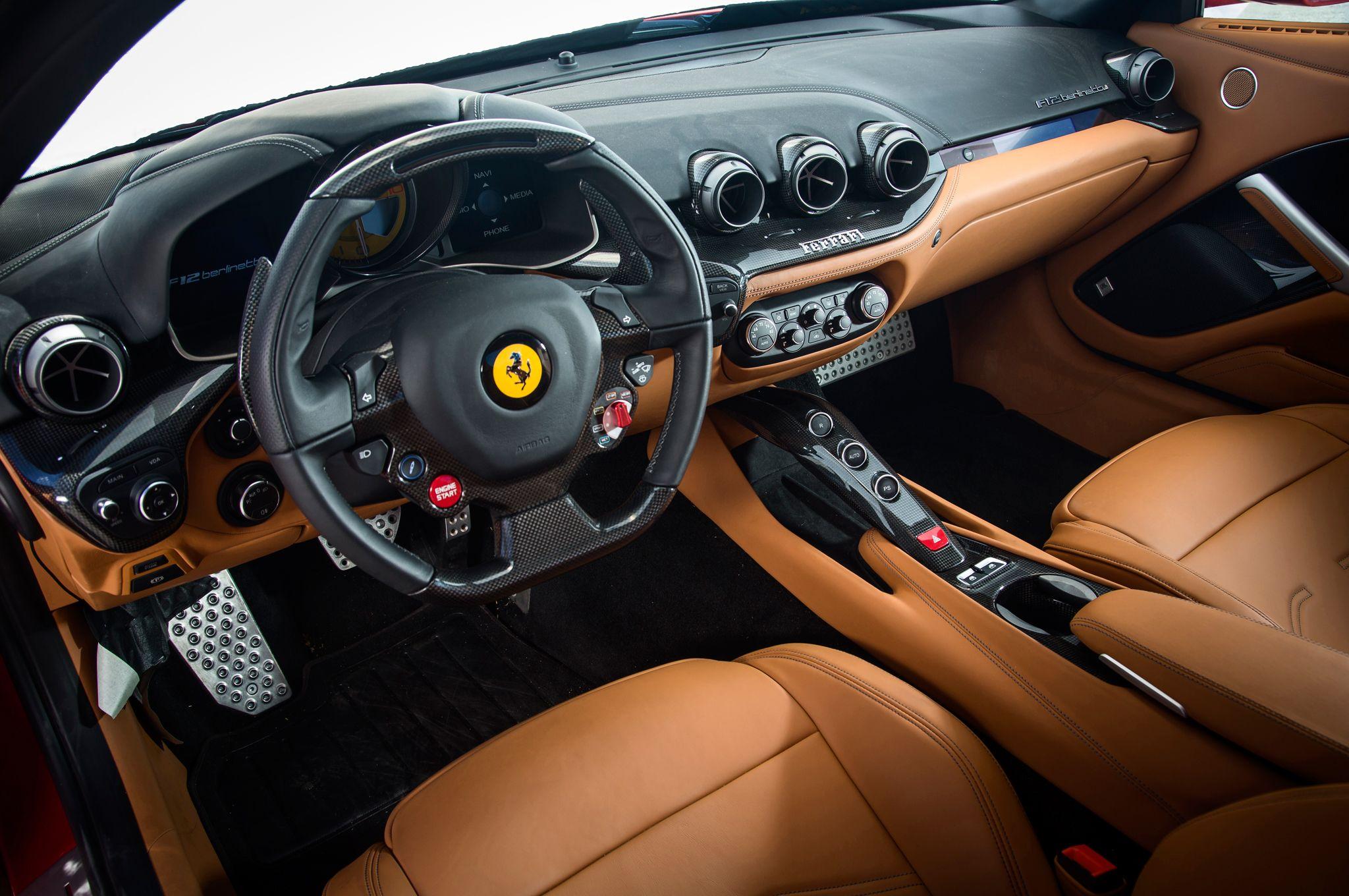 Awesome Ferrari Berlinetta F12 Interior