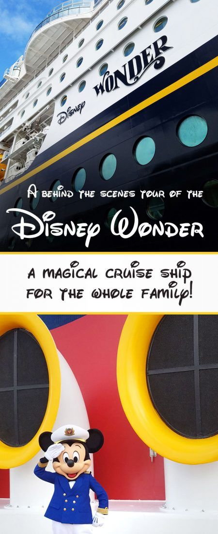 A behind the scenes photo tour of the Disney Wonder cruise ship!