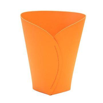 Papierkorb Orange L, 35€, jetzt auf Fab.