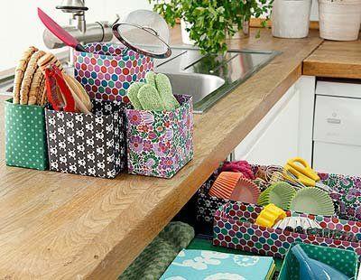 Cmo decorar las cajas Cajas Papel de colores y Cajas decoradas