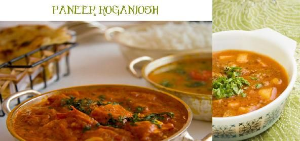 Paneer roganjosh recipe indian vegetarian recipes curry and dinners forumfinder Images
